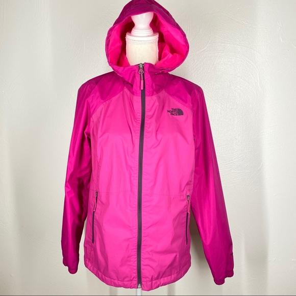 North Face Hooded HyVent Waterproof Rain Jacket M